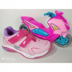 Imagem - Tenis Kidy 007-1604-3031 Play Tespi-tec /pink - 236007-1604-303146