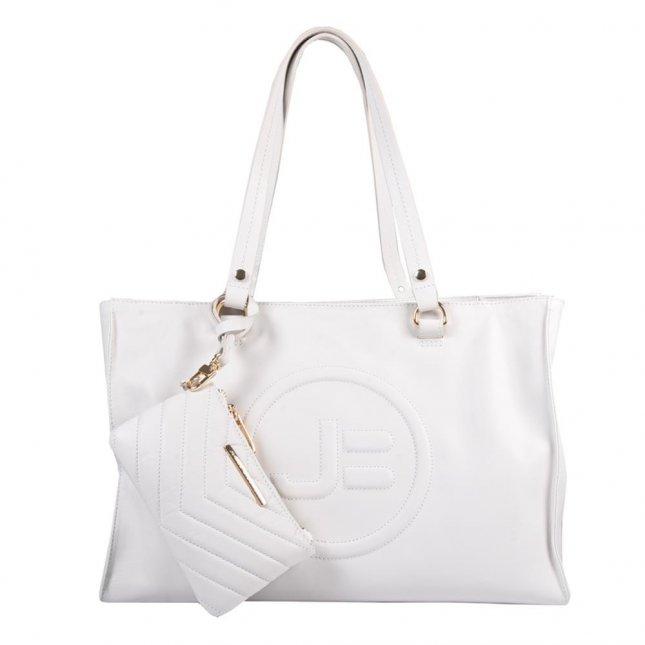 Bolsa Grande Branca com Necessaire V21