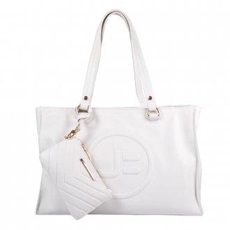 Imagem - Bolsa Grande Branca com Necessaire V21