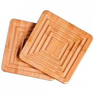 Apoio Para Panela Bamboo 2 Peças
