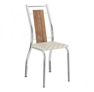 Cadeira Carraro 1720 Em Mdp C/ Assento Napa