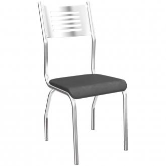 Cadeira Moveis K1 Munique Crome