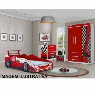 Cama Carro Vermelho