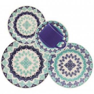Conjunto de Jantar Oxford Donna Lola 20 Pecas - Ae20-5190