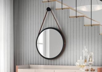 Espelho Decorativo Com Alça 540mm - Hb Móveis