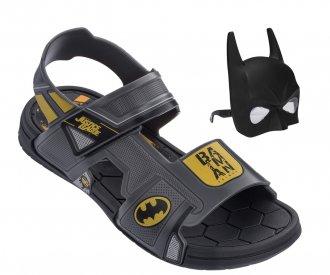 Sandália Batman Com Máscara