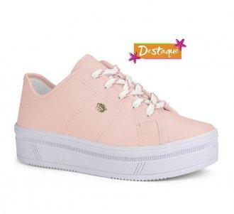 Tênis Flatform Pink Cats