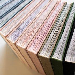 Imagem - álbum meus primeiros cinco aninhos em linho - gravação botânico - mim papelaria
