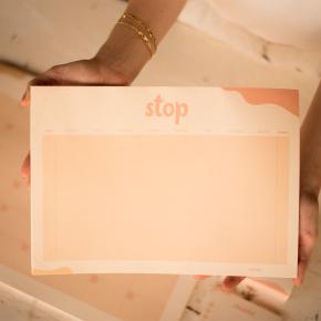 Imagem - bloco de papel jogo stop coleção alice manga - mim papelaria