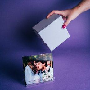 Imagem - kit caixa de presente com suporte acrílico - coleção sweetheart + fotos 10x10 - mim papelaria