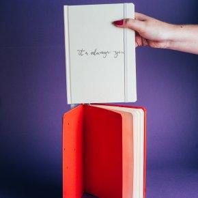 Imagem - caderno a5 - coleção sweetheart - mim papelaria