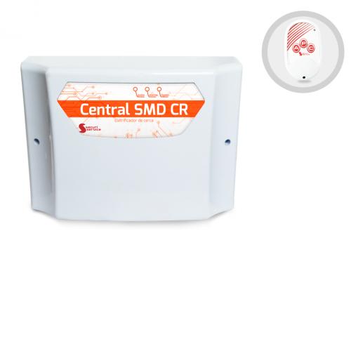 Central de Cerca Elétrica Eletrificador com Alarme SMD CR GCP