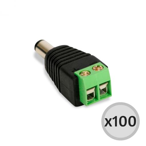 Kit 100 unidades Conector P4 - Bopo
