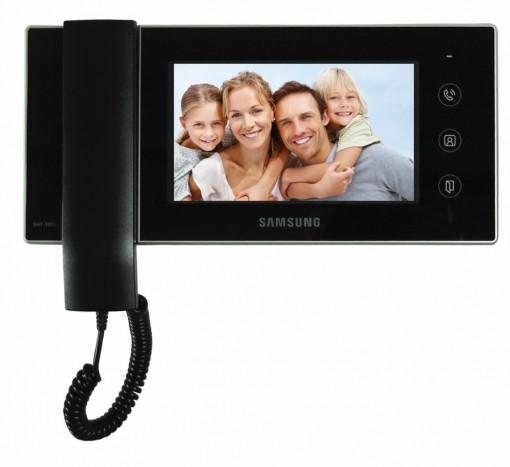 Video Porteiro Eletrônico LCD 6 Colorido e Campainha Externa SHT-3006 Samsung
