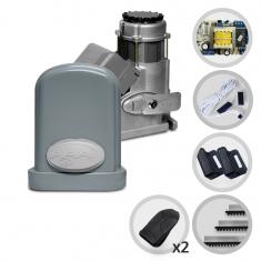 Imagem -  Kit Motor de Portão Eletrônico Deslizante PPA Eurus Steel 1/2 HP