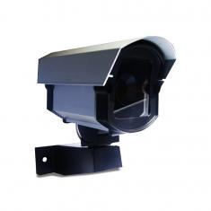 Imagem - Câmera de Segurança Falsa Com Led
