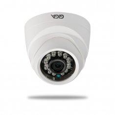 Câmera Dome Giga 720p OPEN HD PLUS 4 em 1 - Infra 20m - 1/4 - 3.2mm - UTC - DWDR - GS0011