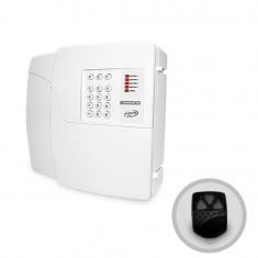 Imagem - Central de Alarme Residencial 4 Setores Codigus 4D PPA Com Discadora e Controle