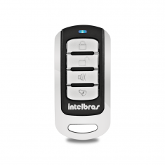 Controle Remoto Para Alarme Intelbras 433,92 MHz - XAC 3000 4K Aço inox