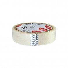 Fita adesiva transparente para embalagens e uso geral 24mm x 50m