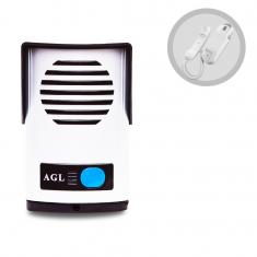 Imagem - kit Interfone Porteiro Eletrônico AGL