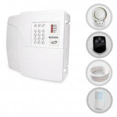 Kit Alarme Residencial e Comercial Sem Fio PPA Com 1 Sensor e Discadora (Controles e Sensores Já Configurados)