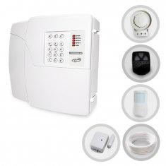 Kit Alarme Residencial e Comercial Sem Fio PPA Com 2 Sensores e Discadora (Controles e Sensores Já Configurados)