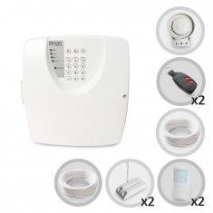 Imagem - Kit Alarme Residencial ou Comercial 4 Sensores Com Fio Bopo