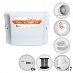 Kit Cerca Elétrica GCP Para 50 Metros de Muro (Sem Bateria)