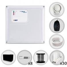 Imagem - Kit Cerca Elétrica Shock Control ECP para 90 Metros de Muro (Com Bateria)