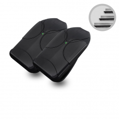 Kit Cremalheiras + 2 Controles PPA 433,92 MHz Para Motor De Portão