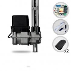 Kit Motor de Portão Eletrônico Basculante Bopo Bv UP 1/2 HP 1,40 metros