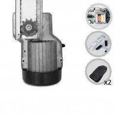 Kit Motor de Portão Eletrônico Basculante de Corrente PPA Levante Portal 1/4 HP