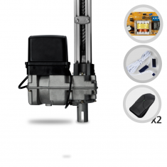 Kit Motor de Portão Eletrônico Basculante PPA Bv Home 1/4 HP 1,40 metros