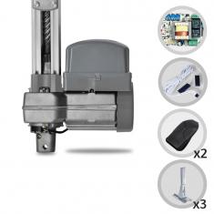 Kit Motor de Portão Eletrônico Basculante PPA Penta Predial 1/2 HP + Suportes