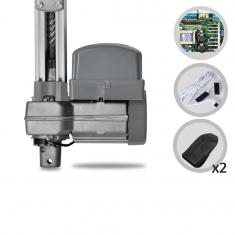 Imagem - Kit Motor de Portão Eletrônico Basculante PPA Potenza Predial 1/3 HP Jet Flex