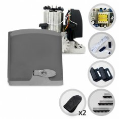 Imagem - Kit Motor de Portão Eletrônico Deslizante Bopo Dz Open House 1/2HP