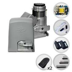 Kit Motor de Portão Eletrônico Deslizante Industrial PPA Dz Eurus 1400