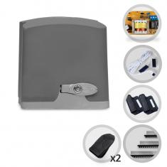 Imagem - Kit Motor De Portão Eletrônico Deslizante PPA DZ 1/4 HP