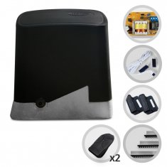 Imagem - Kit Motor de Portão Eletrônico Deslizante PPA DZ Home 1/4 Hp Pop Plus