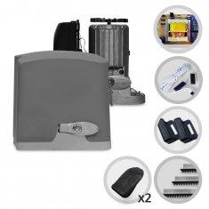 Kit Motor de Portão Eletrônico Deslizante PPA Dz Rio 400 Pop Plus
