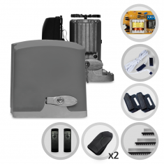 Imagem - Kit Motor de Portão Eletrônico Deslizante PPA Dz Rio 400 1/4 HP + Sensor Fotocélula Anti-Esmagamento F10
