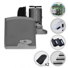 Imagem - Kit Motor de Portão Eletrônico Deslizante PPA Dz Rio 400 1/4HP Jet Flex