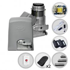 Kit Motor de Portão Eletrônico Deslizante PPA Eurus 2000 SP + Botoeira