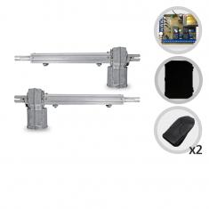 Kit Motor de Portão Eletrônico Pivotante PPA Piston Super Central Dupla