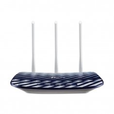 Roteador Wireless Tp-link Dual Band 750mbps 3 Antenas Archer C20 AC750