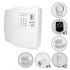 Kit Alarme Residencial ou Comercial PPA + 6 Sensores Com Fio