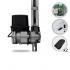 Kit Motor de Portão Eletrônico Basculante PPA Bv Home 1/4 HP 1,40m Jet Flex
