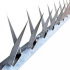 Lança Protetora Trincheira para Muro Galvanizada 1 Metro