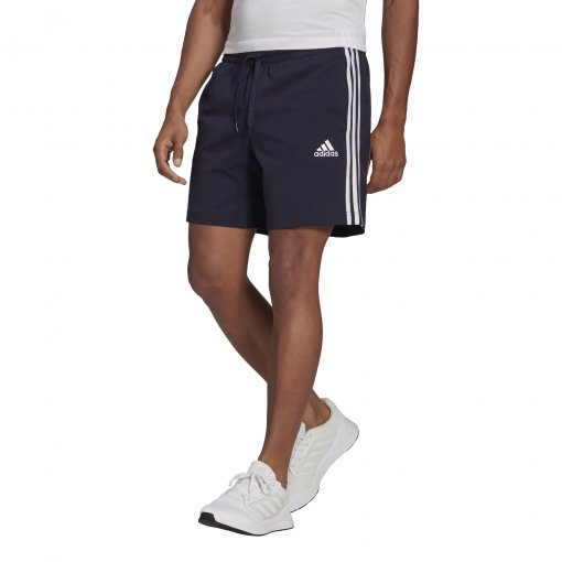Bermuda Moletom Adidas Essentials 3-Stripes Masculina